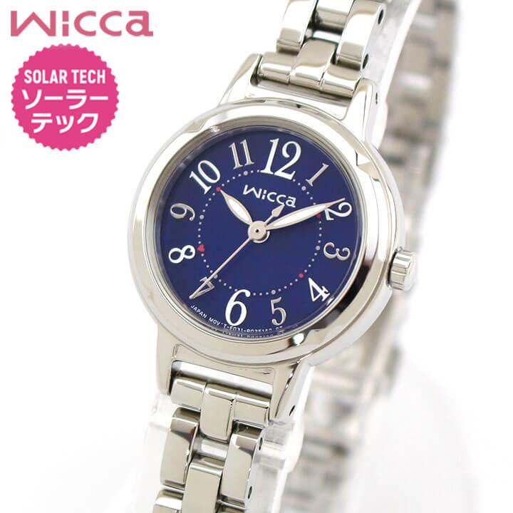 シチズン ウィッカ ソーラー 腕時計 レディース KP3-619-71 国内正規品 CITIZEN wicca ソーラーテック 商品到着後レビューを書いて7年保証 誕生日プレゼント 女性 ギフト