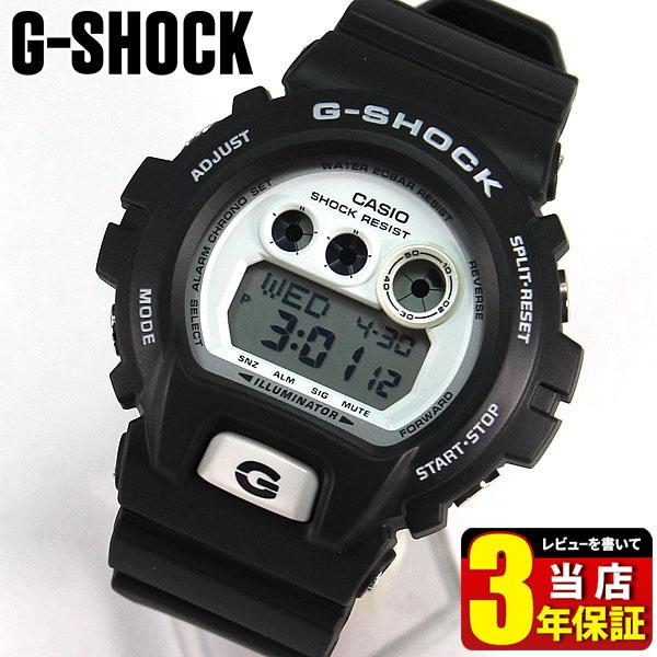 【タグなし】CASIO カシオ G-SHOCK Gショック メンズ 腕時計 新品 時計 ウォッチ ビッグサイズシリーズ モノトーン ブラック ホワイト 黒 白 GD-X6900-7 海外モデルスポーツ 誕生日プレゼント 男性 父の日 ギフト 商品到着後レビューを書いて3年保証 ブランド