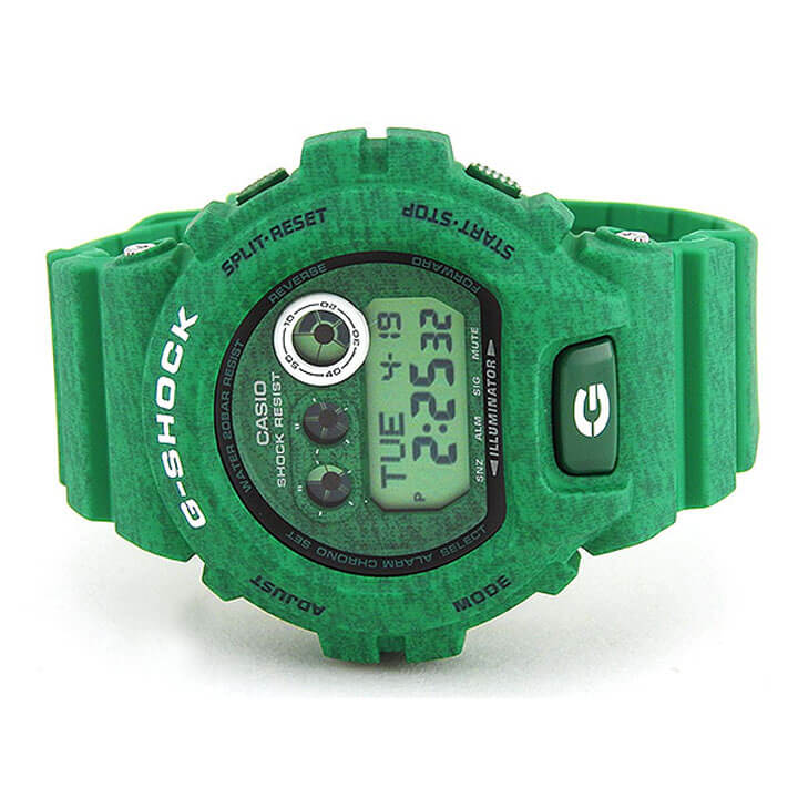 ... present man gift item for three years on CASIO Casio G-SHOCK G-Shock Heathered Color Series ヘザード color series digital GD-X6900HT-3 quartz green ...