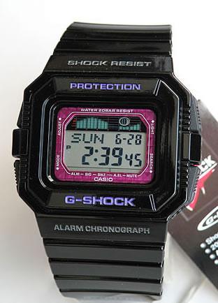 【送料無料】【BOX訳あり】 CASIO カシオ G-SHOCK Gショック ジーショック GLX-5500-1 海外モデル タイドグラフ ムーンデータ スポーツライン スポーツウォッチ G-LIDE メンズ 腕時計 防水時計 スポーツ 誕生日プレゼント ギフト 商品到着後レビューを書いて3年保証