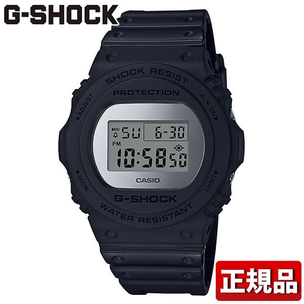 【送料無料】 CASIO カシオ G-SHOCK Gショック ジーショック Metallic Mirror Face メタリック・ミラーフェイス DW-5700BBMA-1JF メンズ 腕時計 ウレタン 多機能 クオーツ デジタル 黒 ブラック 銀 シルバー 国内正規品