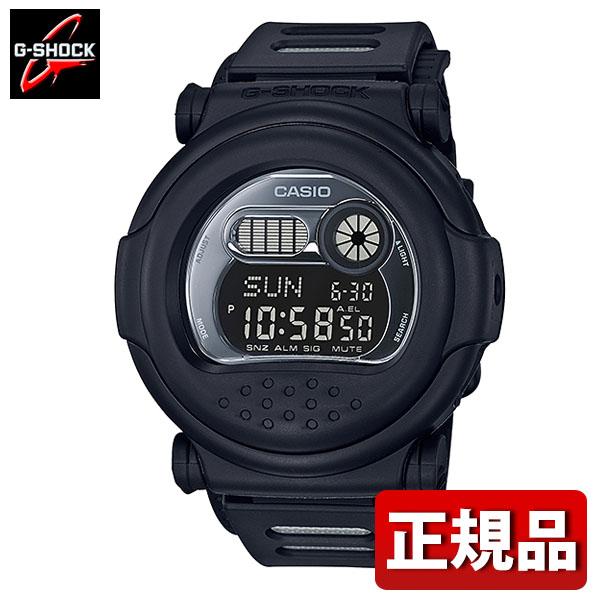 【送料無料】CASIO カシオ G-SHOCK Gショック ジーショック Aboslute Toughnenss アブソリュートタフネス G-001BB-1JF メンズ 腕時計 ウレタン 多機能 クオーツ デジタル 黒 ブラック 銀 シルバー 国内正規品