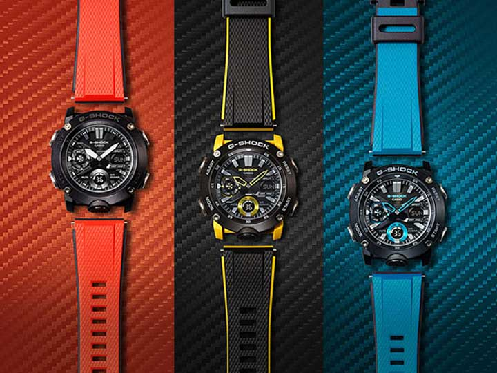 CASIO カシオ G SHOCK Gショック ジーショック ga 2000 カーボン 軽い メンズ 腕時計 防水 ウレタン クQCxtshrd