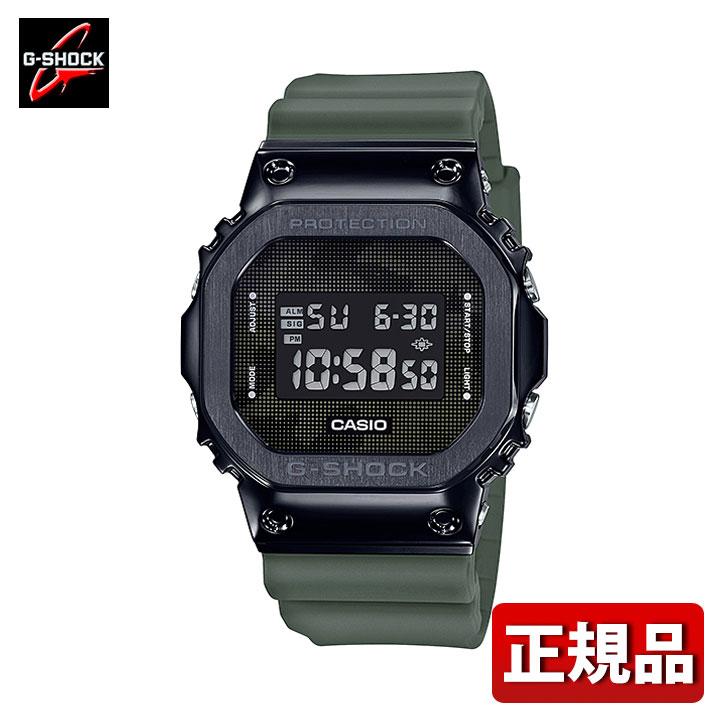 【先着!250円OFFクーポン】CASIO カシオ G-SHOCK Gショック ジーショック GM-5600B-3JF メンズ 腕時計 ステンレス ウレタン 多機能 クオーツ デジタル 黒 ブラック 緑 グリーン 国内正規品