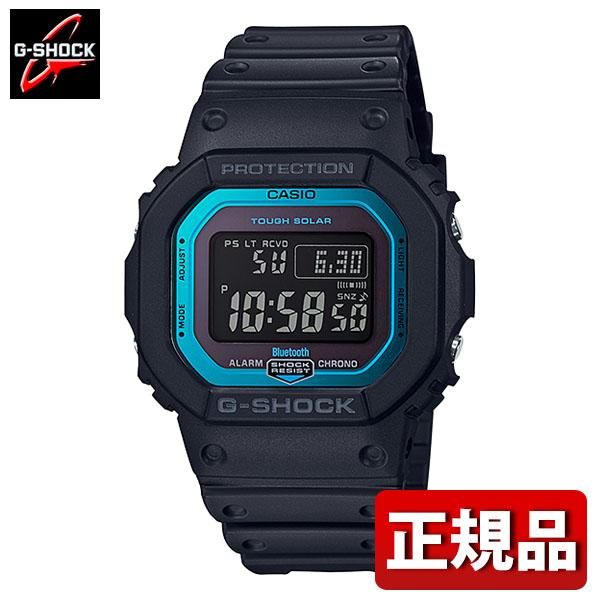 【送料無料】CASIO カシオ G-SHOCK Gショック ジーショック GW-B5600-2JF メンズ 腕時計 ウレタン 多機能 タフソーラー デジタル 黒 ブラック 青 ブルー 国内正規品