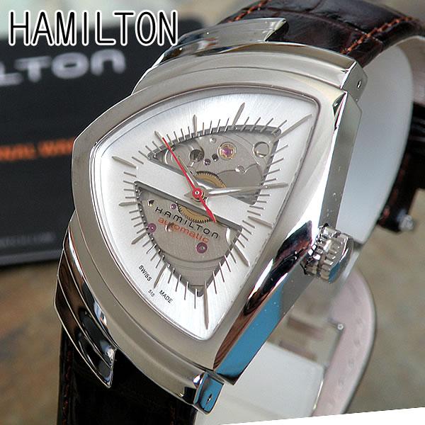 H24515551【HAMILTON VENTURA AUTO】ハミルトン ベンチュラ オート メンズ腕時計 自動巻き 時計 海外モデル 還暦 誕生日プレゼント 男性 ギフト ブランド