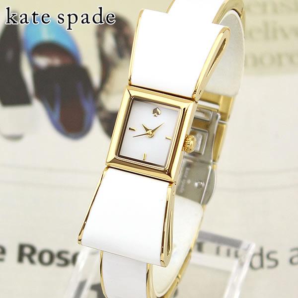 【送料無料】 KATE SPADE ケイトスペード ケートスペード KENMARE ケンマール KSW1111 海外モデル レディース 腕時計 ウォッチ メタル バンド クオーツ アナログ 白 ホワイト 金 ゴールド