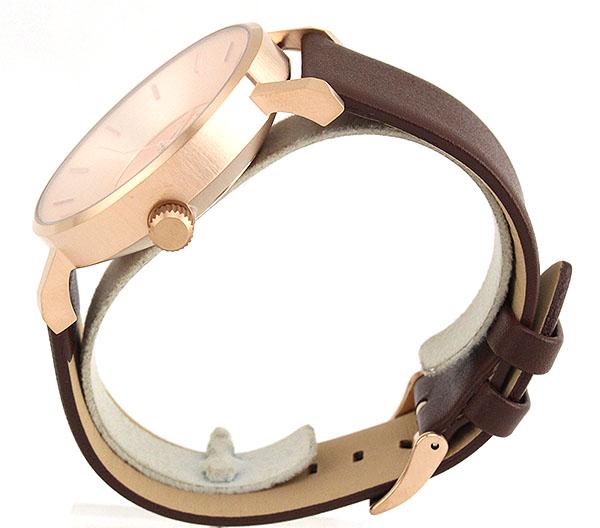 【】 Klasse14 クラス14 KLASSE14 Volare VO14RG002M 海外モデル メンズ レディース 腕時計 革ベルト レザー クオーツ アナログ 茶 ブラウン 金 ピンクゴールド 42mm 誕生日プレゼント ギフト