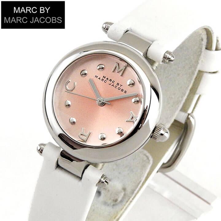 【送料無料】MARC JACOBS マーク ジェイコブス Dotty ドッティ MJ1411 26mm 海外モデル レディース 腕時計 ウォッチ 白 ホワイト ピンク ホワイトデー ギフト ブランド