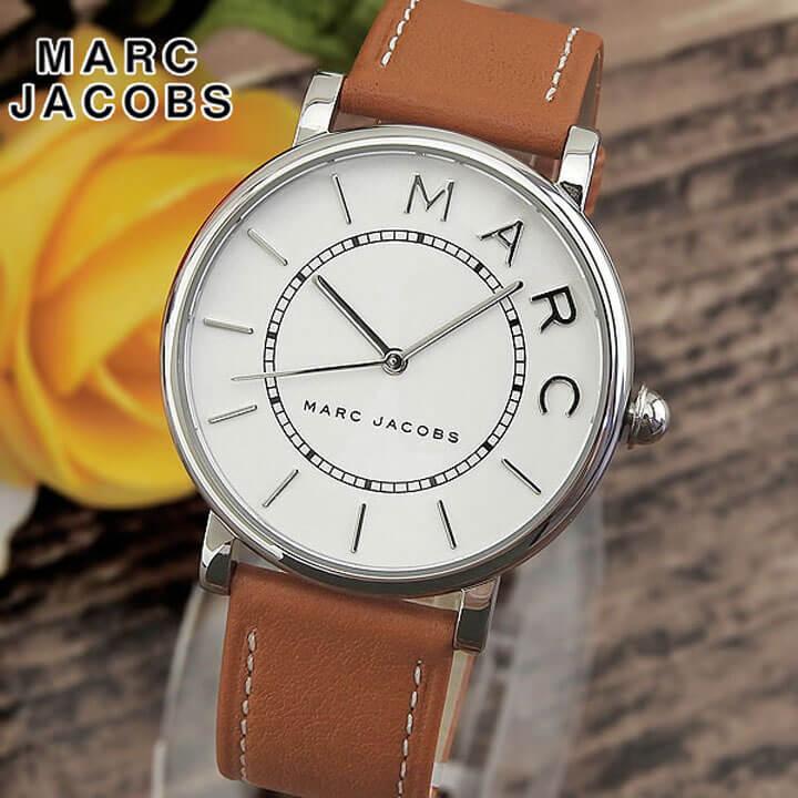【先着!250円OFFクーポン】MARC JACOBS マーク ジェイコブス ロキシー ブラウン レディース 腕時計 革バンド レザー クオーツ アナログ MJ1571 海外モデル 誕生日プレゼント 女性 ギフト ブランド