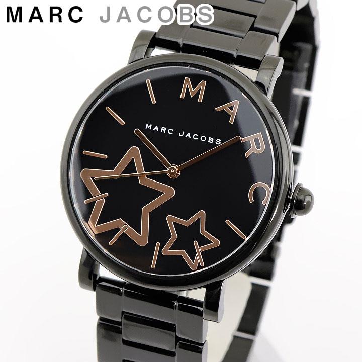 【送料無料】MARC JACOBS マークジェイコブス Classic クラシック MJ3590 海外モデル レディース 腕時計 ウォッチ アナログ ブラック 黒 ピンクゴールド ステンレスチール メタル 誕生日プレゼント 女性 ギフト