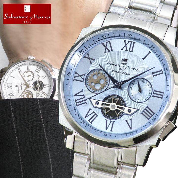 Salvatore Marra サルバトーレマーラ メンズ 腕時計 新品 時計 SM-1201 クロノグラフ クオーツ 誕生日プレゼント 男性 ギフト ブランド