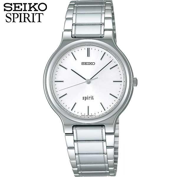セイコー セレクション スピリット 腕時計 SEIKO SELECTION SPIRIT メンズ SCDP003 国内正規品 ウォッチ メタル バンド クオーツ アナログ 白 ホワイト  商品到着後レビューを書いて7年保証 誕生日プレゼント 男性 ギフト 還暦