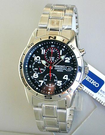 【先着!250円OFFクーポン】SEIKO セイコー 逆輸入 ミリタリークロノグラフ メンズ 腕時計 SND375P1 正規海外モデル 日本製ムーブメント 誕生日プレゼント 男性 ギフト ブランド