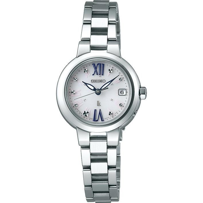 SEIKO セイコー LUKIA ルキア SSVW135 レディース 腕時計 メタル 電波ソーラー 白 ホワイト 銀 シルバー 国内正規品 商品到着後レビューを書いて7年保証 誕生日プレゼント 女性 卒業祝い 入学祝い ギフト ブランド