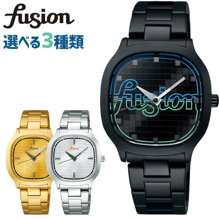 SEIKO セイコー ALBA アルバ FUSION フュージョン 80's Disco メンズ レディース 腕時計 時計 黒 ブラック 金 ゴールド 銀 シルバー メタル 誕生日プレゼント 男性 女性 ギフト 国内正規品 商品到着後レビューを書いて7年保証