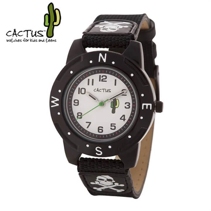 CACTUS カクタス 腕時計 CAC-73-M01 キッズ ウォッチ 子供用 アナログ 黒 ブラック 国内正規品 誕生日プレゼント 小学生 小学校 入学祝い ブランド