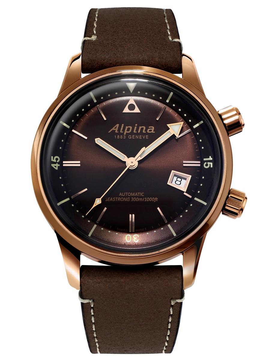 正規品 送料無料 機械式 メンズ アルピナ 店舗 Alpina 在庫処分 ヘリテージ 腕時計 シーストロング AL-525BR4H4 ダイバー