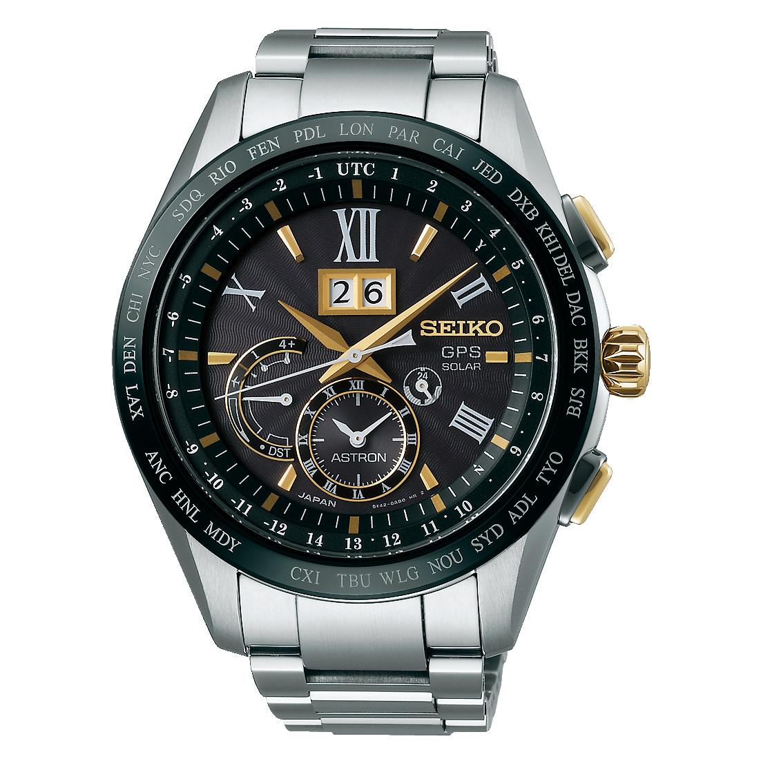 アストロン ASTRON セイコー SEIKO SBXB139 GPSソーラー ビッグデイト チタンモデル 正規品 腕時計