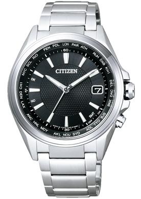 """公民 ATTESA CB1070-56E""""生態駕駛手錶世界時間"""""""