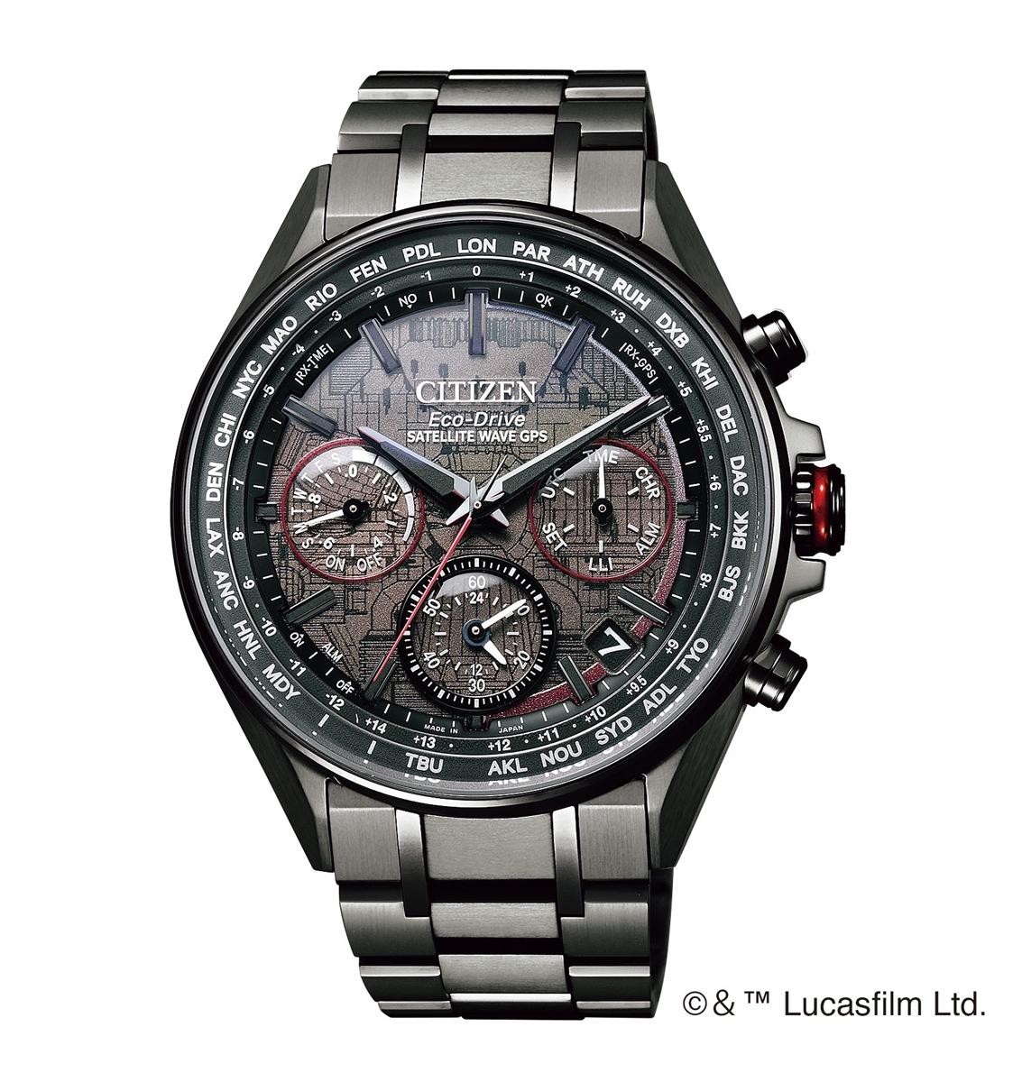 アテッサ ATTESA シチズン CITIZEN 正規メーカー延長保証付き CC4006-61E ダース・ベイダーモデル 限定1500本 正規品 腕時計