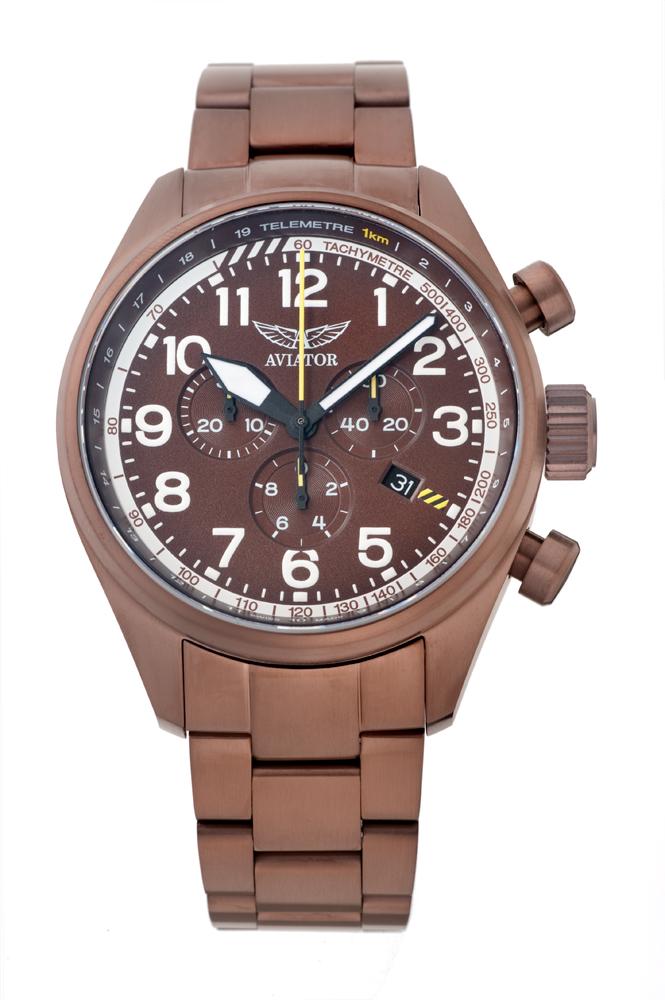 アビエイター AVIATOR V.2.25.8.172.5 エアラコブラ P45 クロノグラフ クォーツ 正規品 腕時計