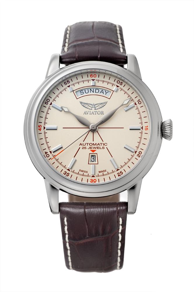 アビエイター AVIATOR V.3.20.0.141.4 ダグラス デイデイト オートマチック 正規品 腕時計