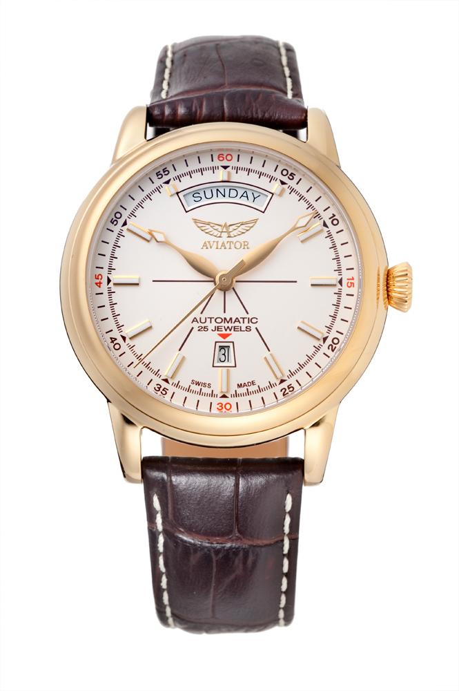 アビエイター AVIATOR V.3.20.1.147.4 ダグラス デイデイト オートマチック 正規品 腕時計