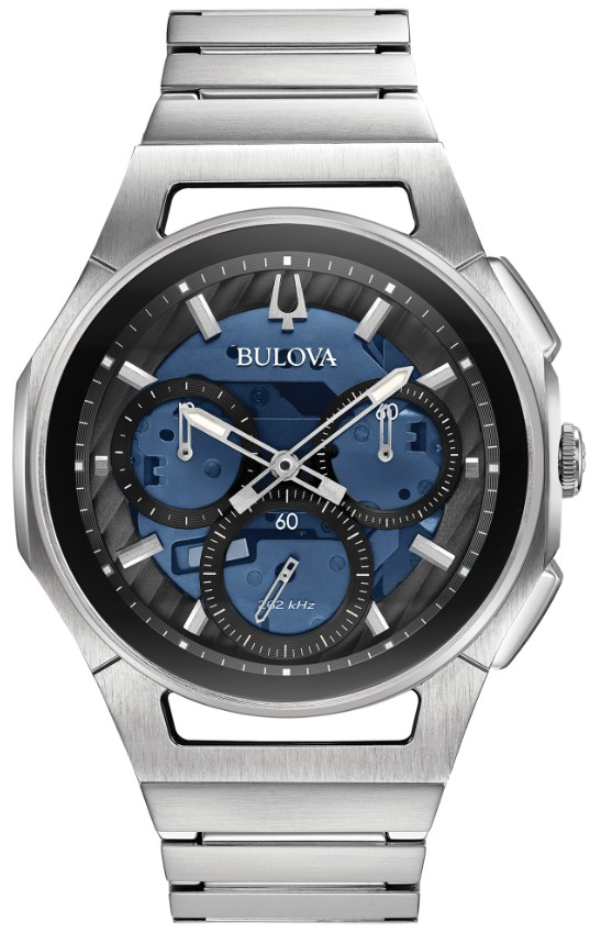 正規品 BULOVA ブローバ 96A205 カーブ クロノグラフ 腕時計