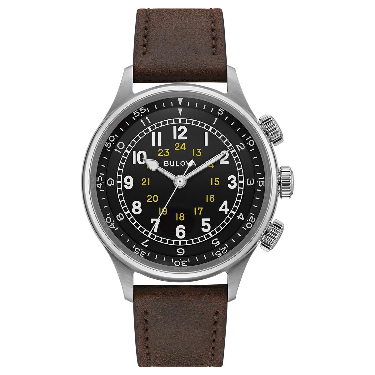 ブローバ BULOVA 96A245 ミリタリー オートマチック 正規品 腕時計