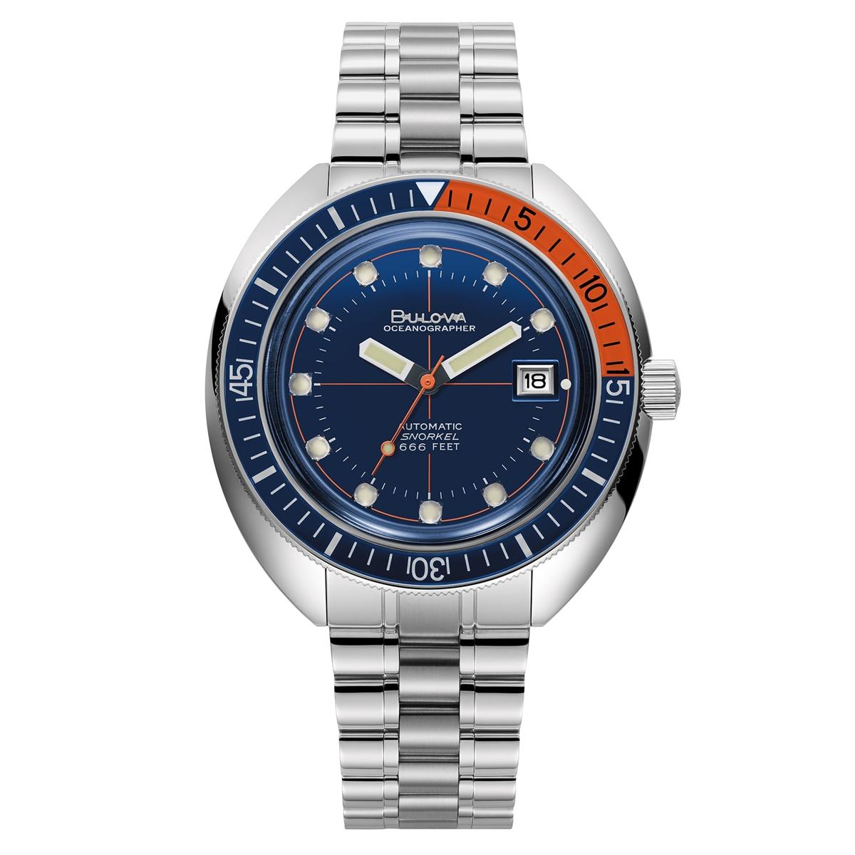 正規品 BULOVA ブローバ 96B321 オーシャノグラファー デビルダイバー 腕時計
