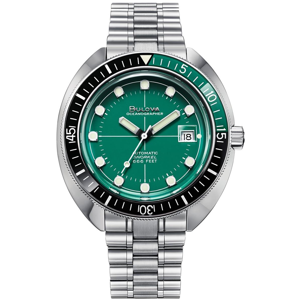 ブローバ BULOVA 96B322 オーシャノグラファー デビルダイバー 正規品 腕時計