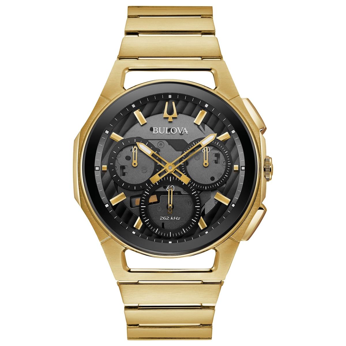 【5/10までオリジナルトラベルクロックをプレゼント】 ブローバ BULOVA 97A144 カーブ プログレッシブ スポーツ クロノグラフ 正規品 腕時計