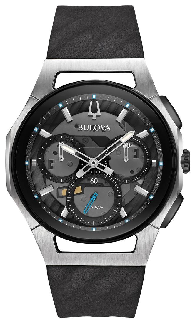 正規品 BULOVA ブローバ 98A161 カーブ クロノグラフ 腕時計