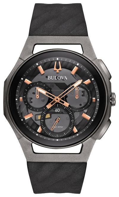 【5/10までオリジナルトラベルクロックをプレゼント】 ブローバ BULOVA 98A162 カーブ クロノグラフ 正規品 腕時計