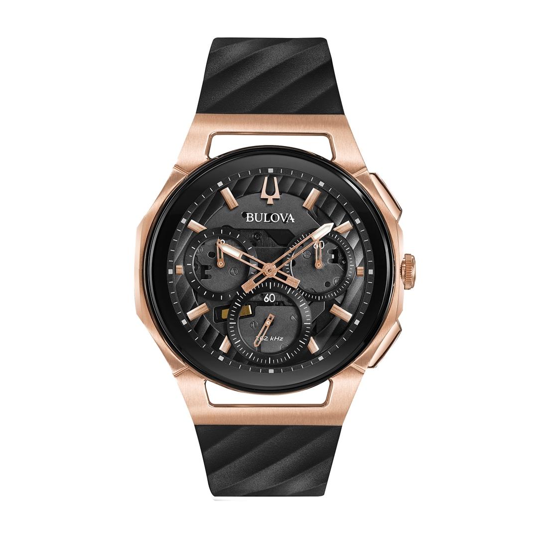 正規品 BULOVA ブローバ 98A185 カーブ クロノグラフ 腕時計