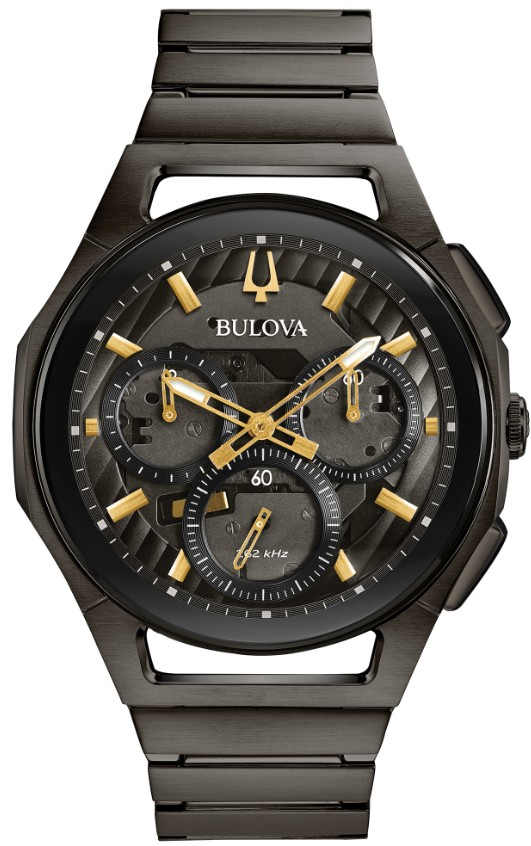 正規品 BULOVA ブローバ 98A206 カーブ クロノグラフ 腕時計