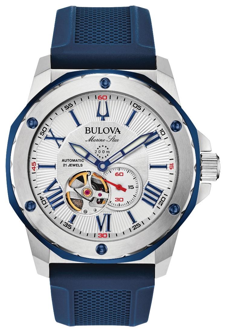 正規品 BULOVA ブローバ 98A225 マリーンスター オートマチック 腕時計