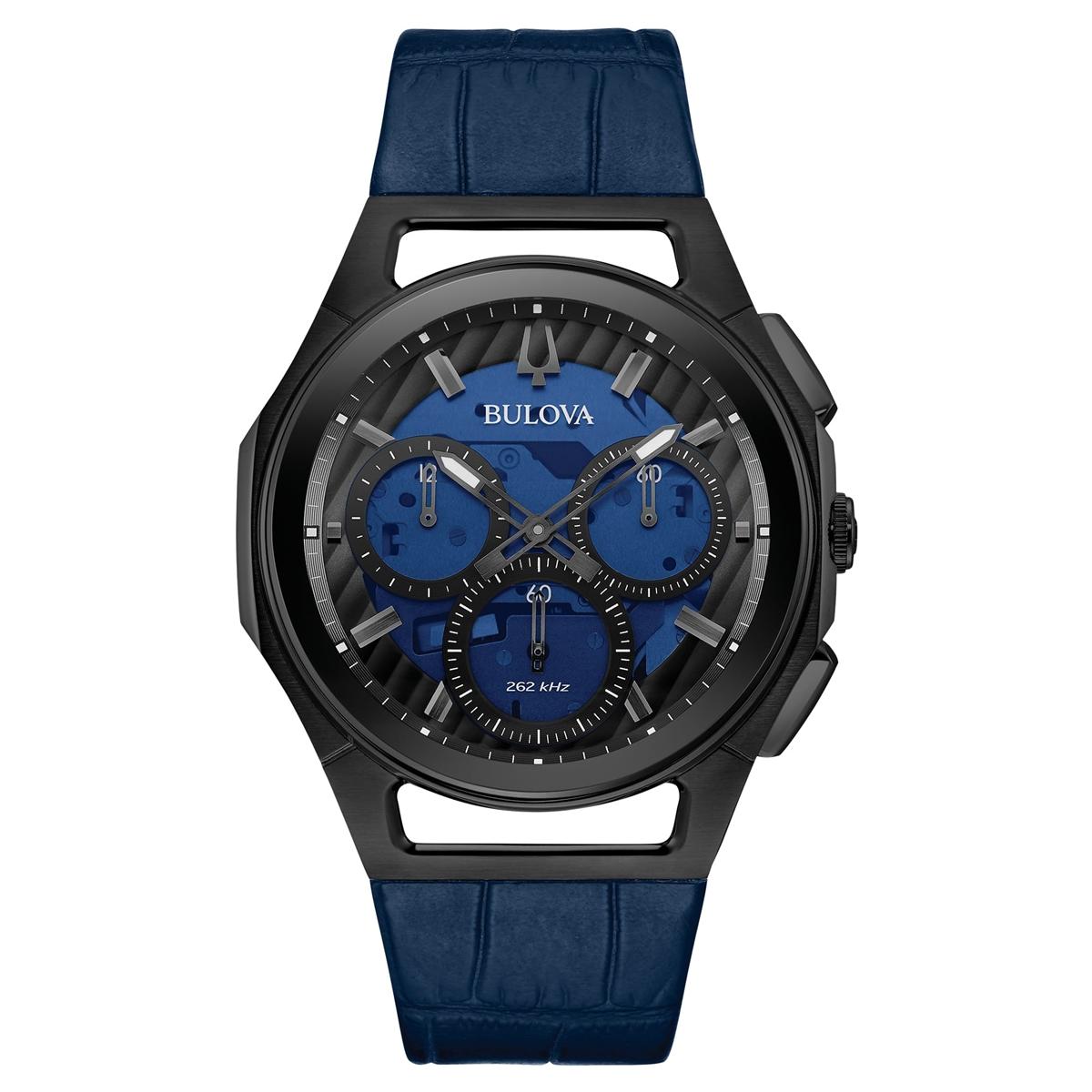 【5/10までオリジナルトラベルクロックをプレゼント】 ブローバ BULOVA 98A232 カーブ プログレッシブ スポーツ クロノグラフ 正規品 腕時計