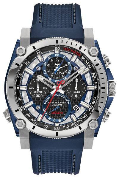 ブローバ BULOVA 98B315 プレシジョニスト クロノグラフ 正規品 腕時計