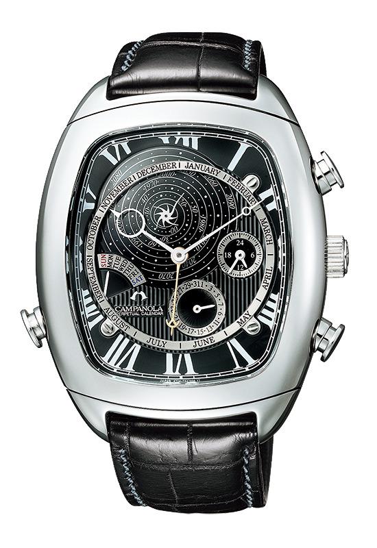 正規品 CITIZEN シチズン CAMPANOLA カンパノラ AG6250-09E コンプリケーション パーペチュアルカレンダー 腕時計