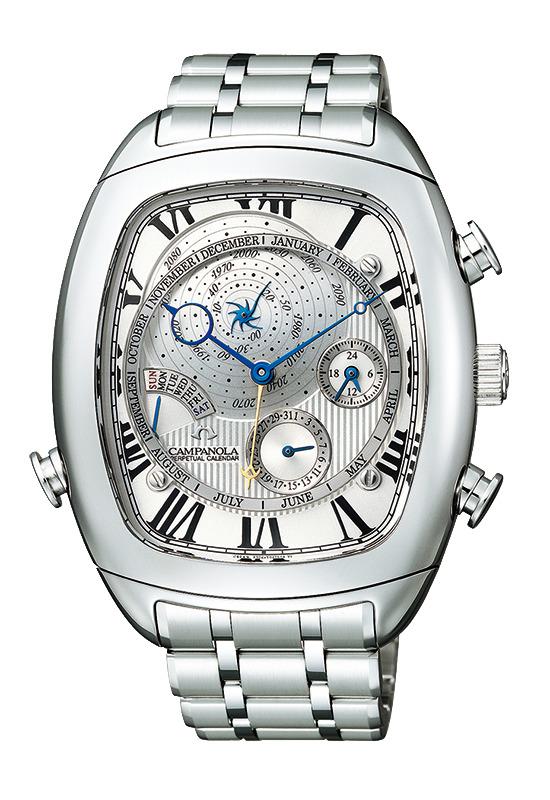 正規品 CITIZEN シチズン CAMPANOLA カンパノラ AG6250-50A コンプリケーション パーペチュアルカレンダー 腕時計