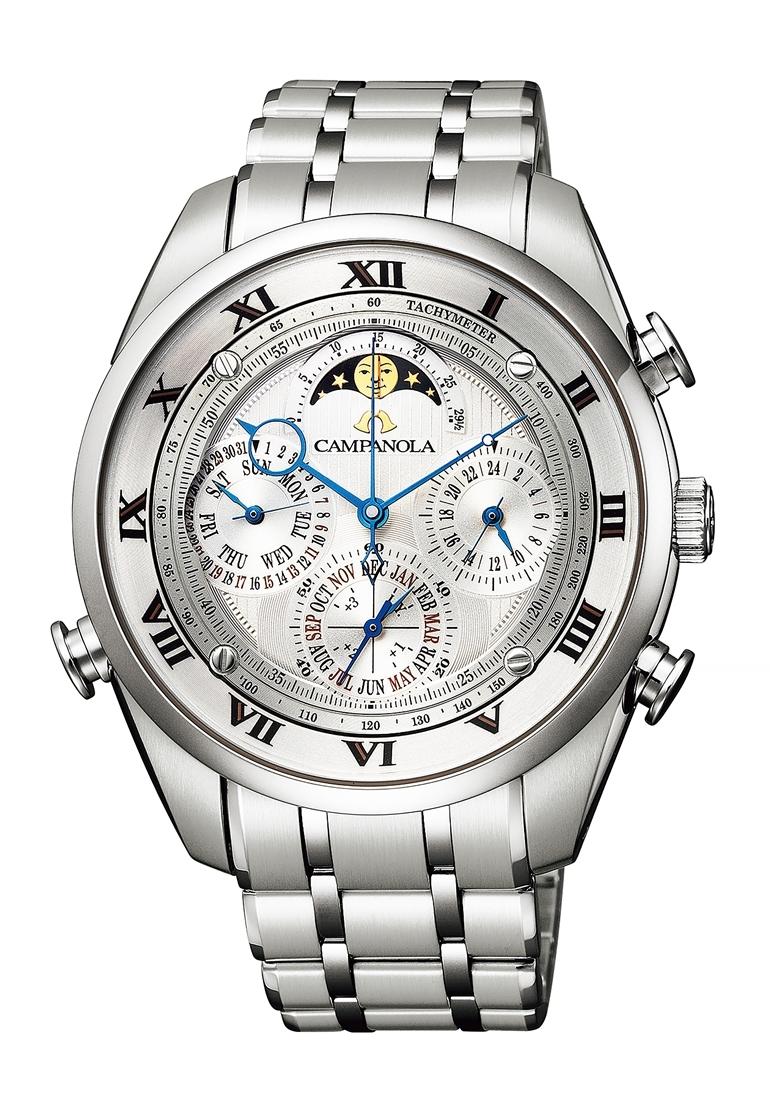 【今ならオリジナルペンケースをプレゼント】 カンパノラ CAMPANOLA シチズン 正規メーカー延長保証付き CITIZEN AH4080-52A グランド コンプリケーション 正規品 腕時計