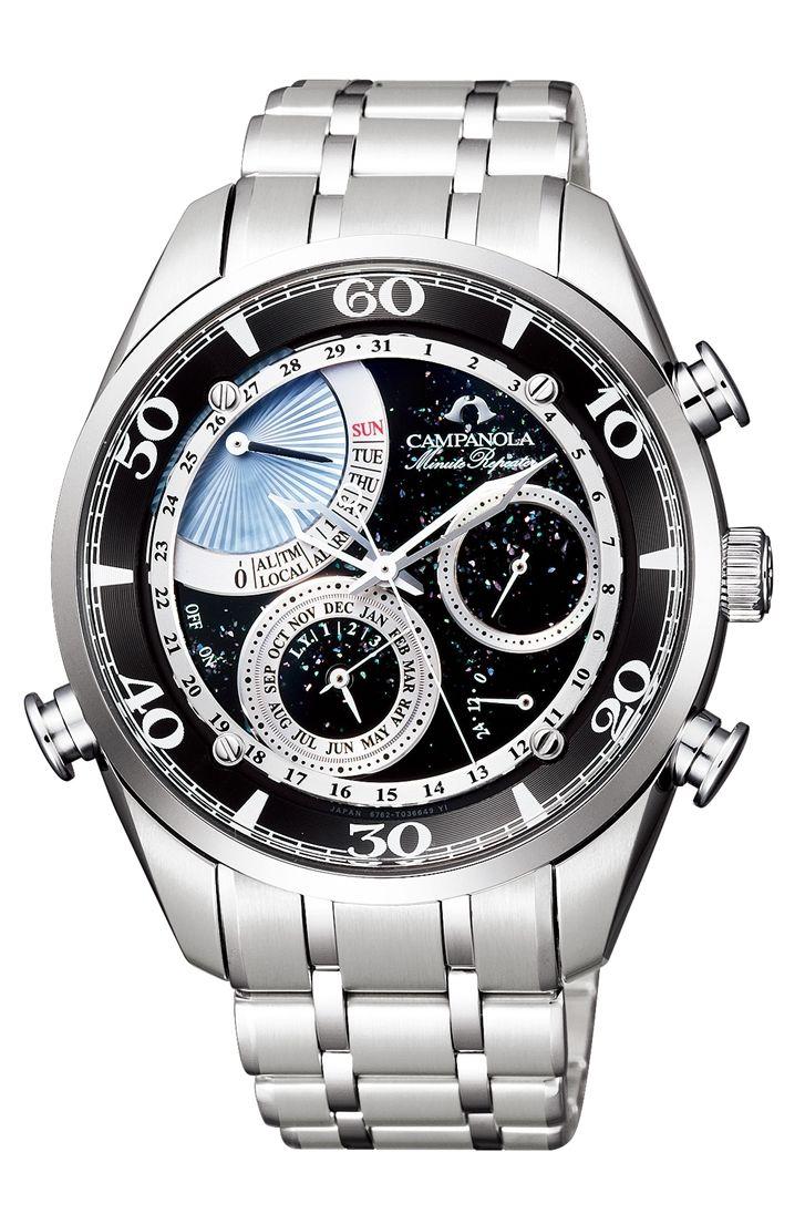 【今ならオリジナルペンケースをプレゼント】 カンパノラ CAMPANOLA シチズン 正規メーカー延長保証付き CITIZEN AH7060-53F 皨雫(ほしのしずく) 正規品 腕時計