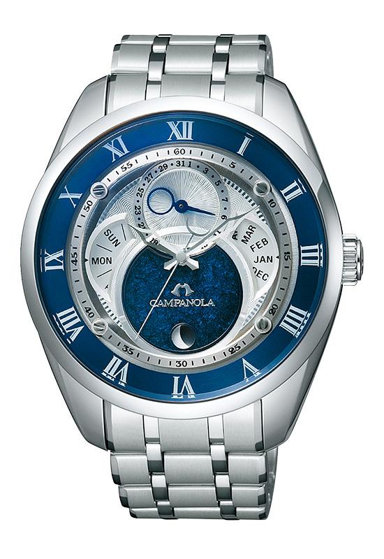 正規品 CITIZEN シチズン CAMPANOLA カンパノラ BU0020-54A Eco-Drive エコドライブ 紺瑠璃-こんるり- 腕時計