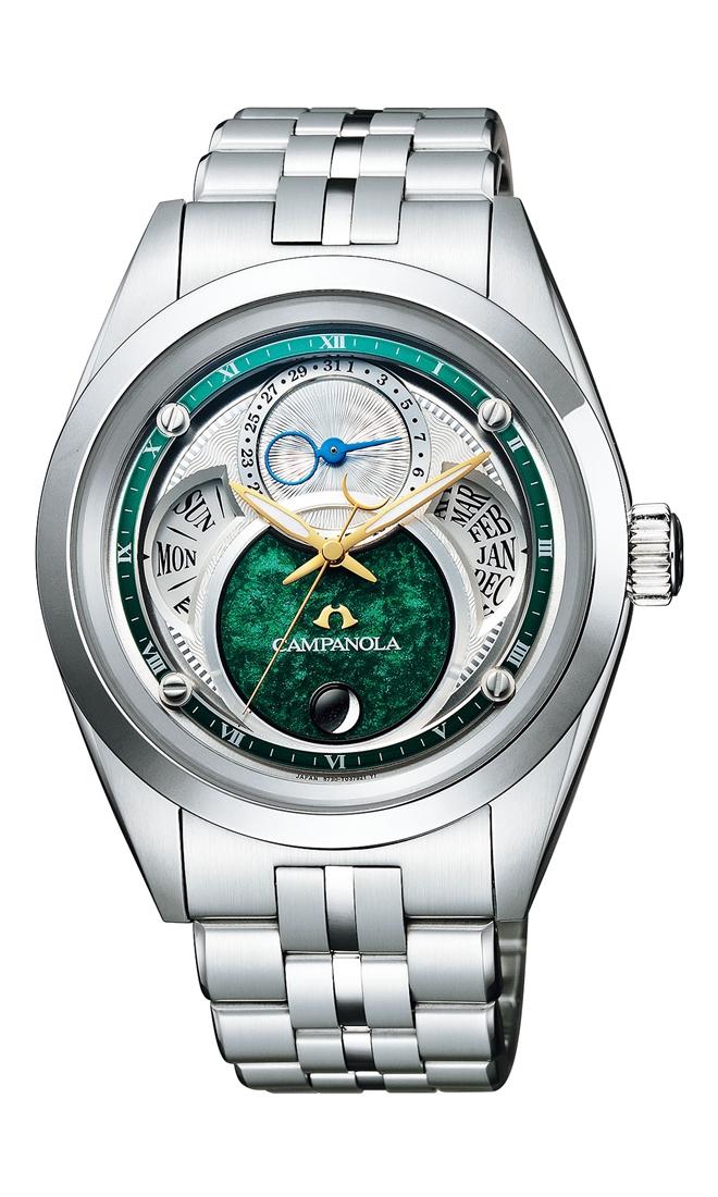 正規メーカー延長保証付き 正規品 CITIZEN シチズン CAMPANOLA カンパノラ BU0040-57Z Eco-Drive エコドライブ 鴗鳥(そにどり) 腕時計