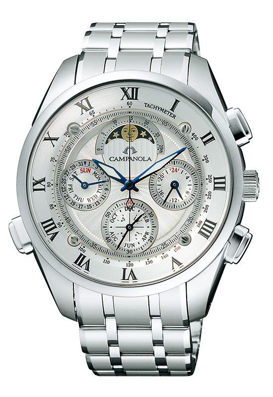 【今ならオリジナルペンケースをプレゼント】 カンパノラ CAMPANOLA シチズン 正規メーカー延長保証付き CITIZEN CTR57-0991 Grand Complication グランド コンプリケーション 正規品 腕時計