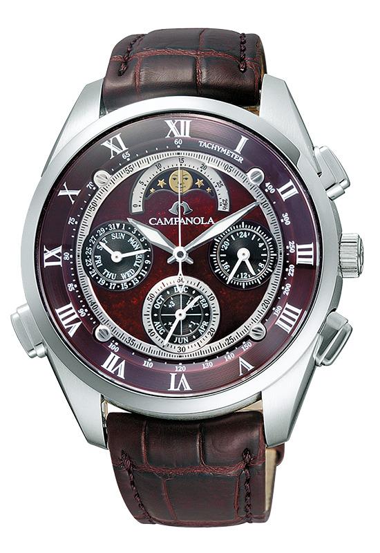 正規品 CITIZEN シチズン CAMPANOLA カンパノラ CTR57-1001 Grand Complication グランド コンプリケーション こきあけ 漆塗り文字板 腕時計