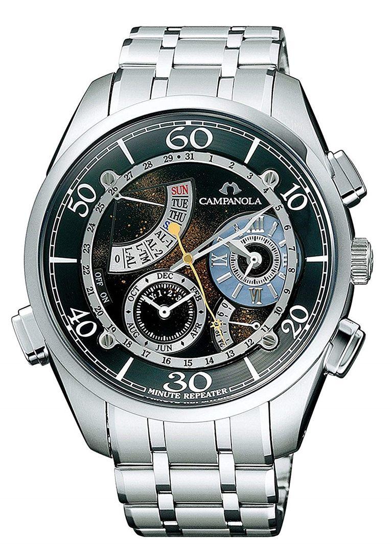 正規品 CITIZEN シチズン CAMPANOLA カンパノラ CTR57-1171 星宿 ほしのやどり 漆塗り文字板 腕時計