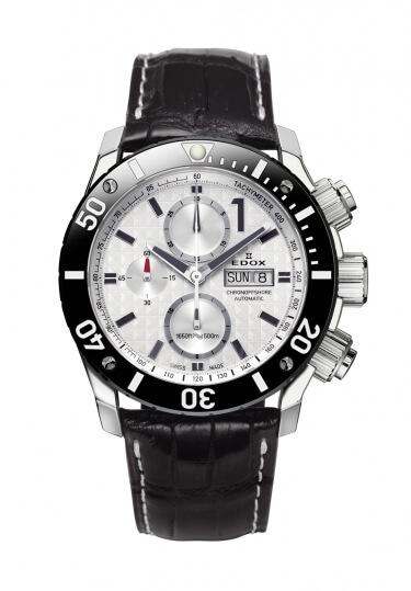 正規品 EDOX エドックス 01114-3-BIN-L クロノオフショア1 クロノグラフ オートマチック 腕時計